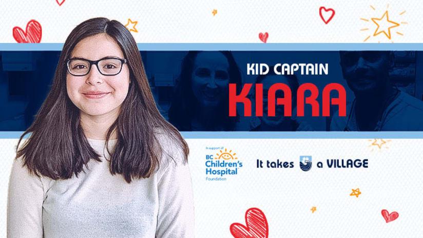 Kid Captain: Kiara