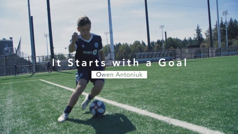 It starts with a goal presented by BMO: Owen Antoniuk