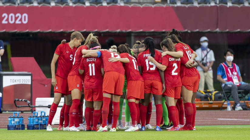 Canada advance to Olympic semifinals, will face United States