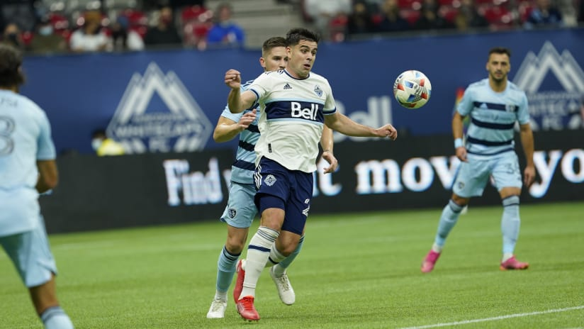 Brian White named to MLS Team of the Week