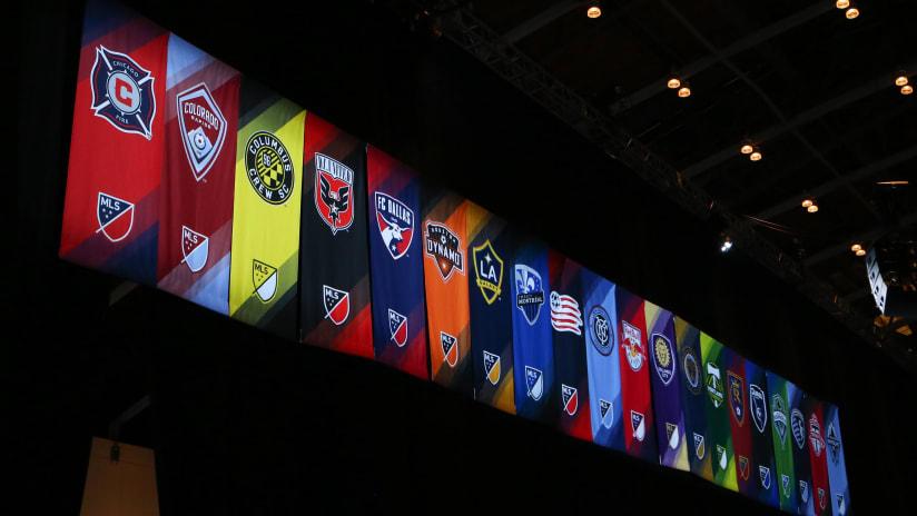 MLS Draft - team logos/flags