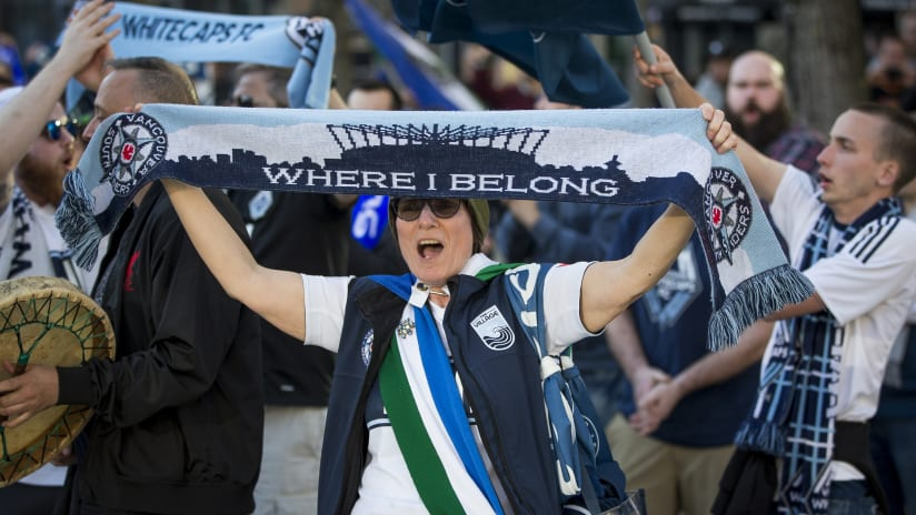 Fan - march - Where we belong