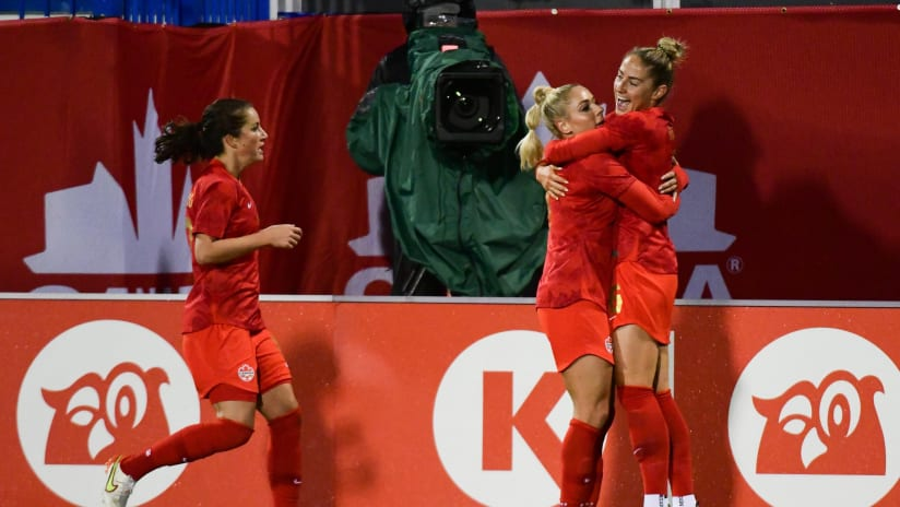 Canada continue Celebration Tour with 1-0 win
