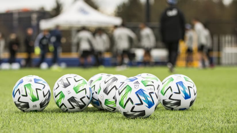 Training - generic - balls