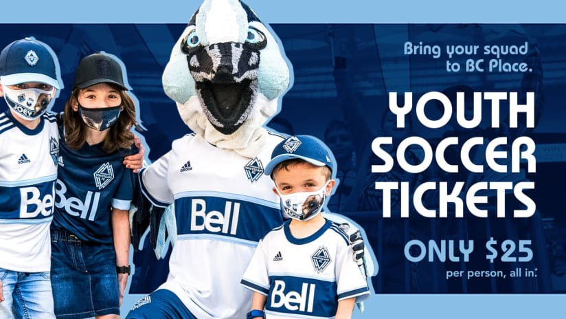 youth soccer tickets