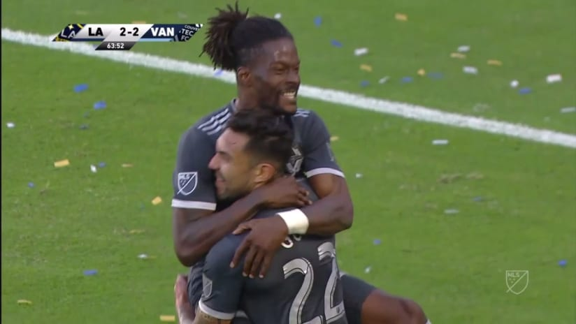 GOAL: Tosaint Ricketts's running header puts the Caps up a goal