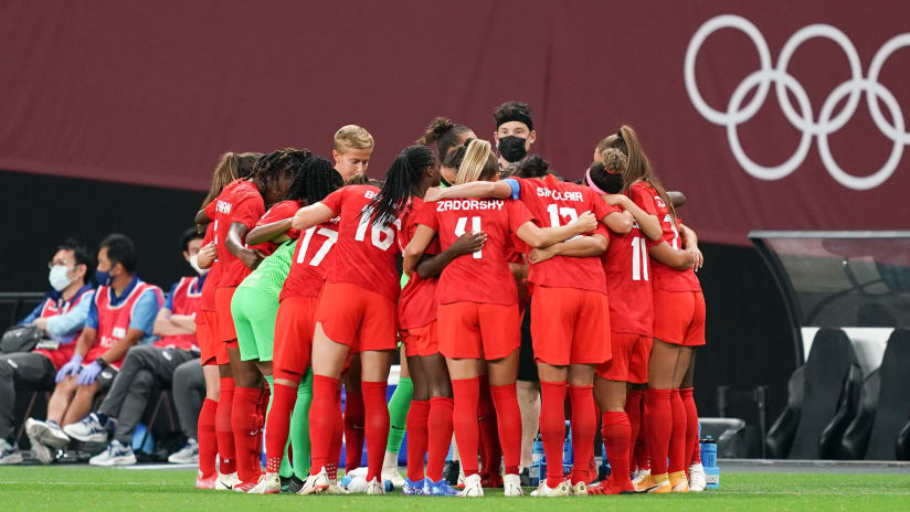 Canada WNT open Olympics with 1-1 draw vs. hosts Japan