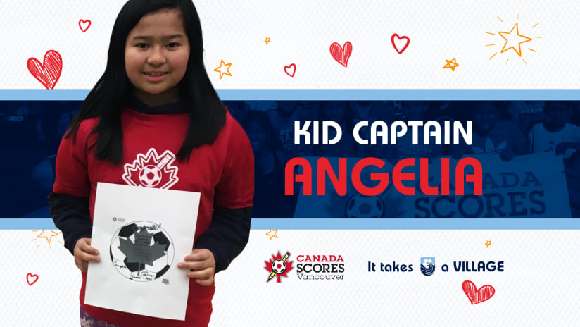 Kid Captain of the Match: Angelia