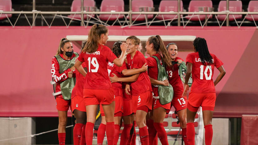 Canada WNT advance to Olympic quarterfinals