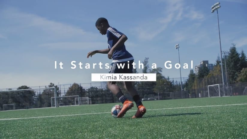 It starts with a goal presented by BMO: Kimia Kassanda