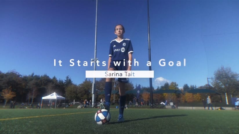 It starts with a goal, presented by BMO: Sarina Tait
