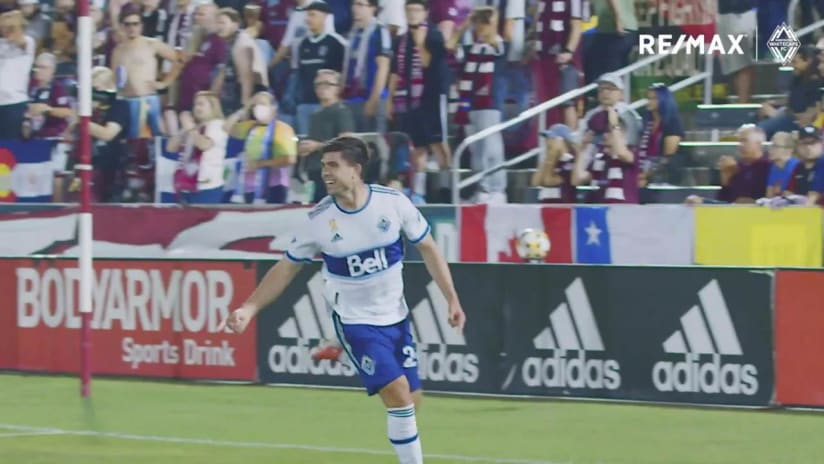 RE/MAX Move of the Match - September 19th #COLvVAN, Brian White
