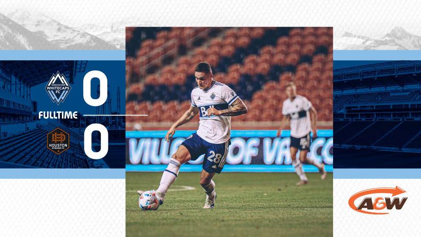 'Caps draw 0-0 with Houston Dynamo FC at Rio Tinto