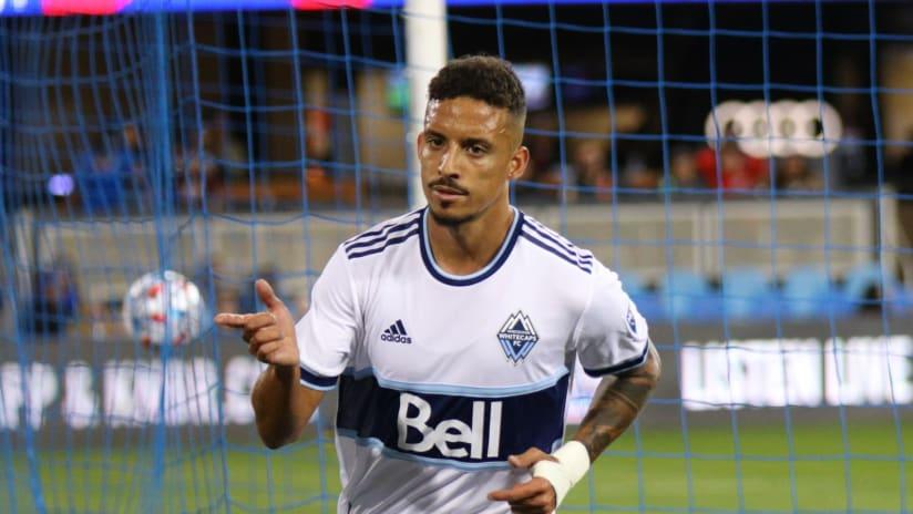 Gaspar named to MLS Team of the Week