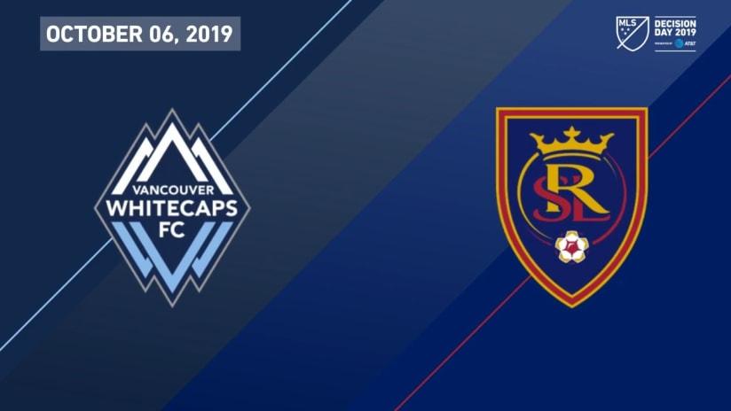 HIGHLIGHTS: Vancouver Whitecaps FC vs. Real Salt Lake | October 6, 2019