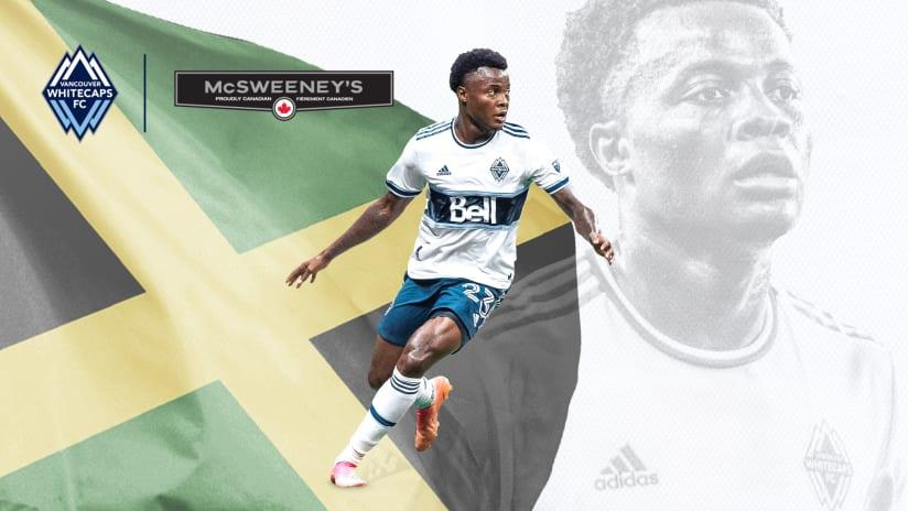 Javain Brown Jamaica call-up