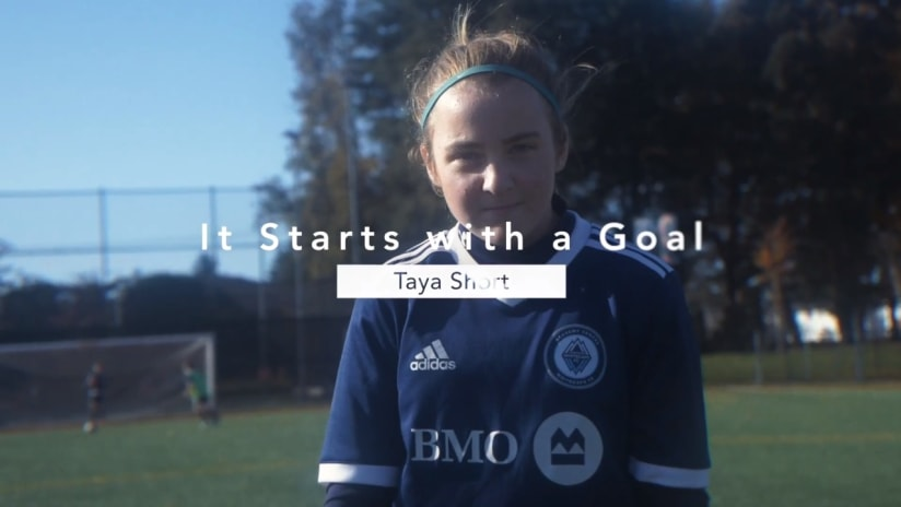 It starts with a goal: Taya Short