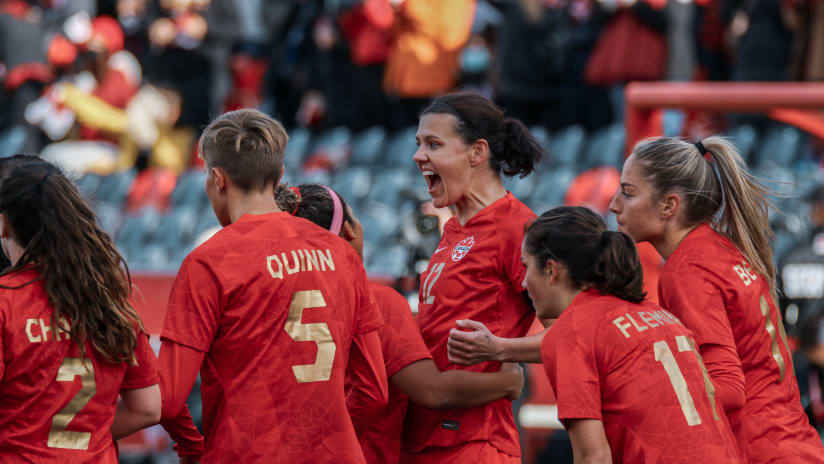 Canada kick off celebration tour with 5-1 win