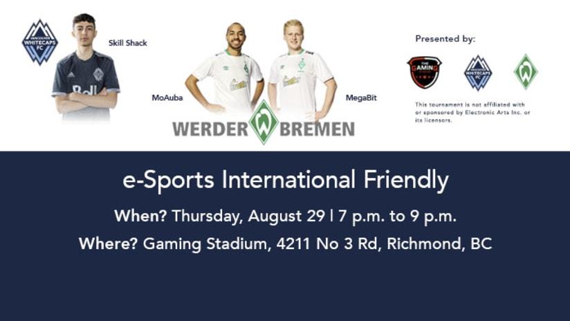 eSports International Friendly vs. Werder Bremen