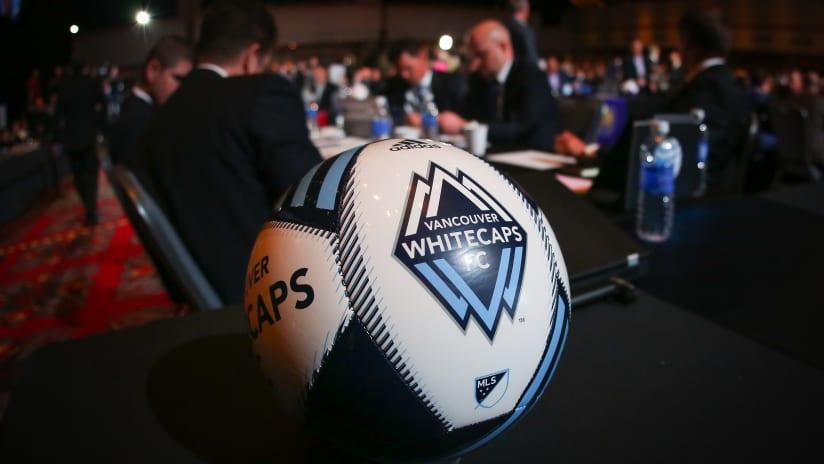 Whitecaps FC SuperDraft Table - 2015