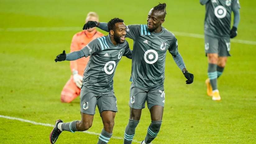 Playoffs - 2020 - Robin Lod & Kei Kamara - Minnesota United