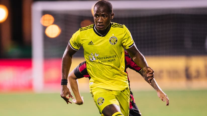 Darlington Nagbe - Columbus Crew SC - close-up - MLS is Back Tournament