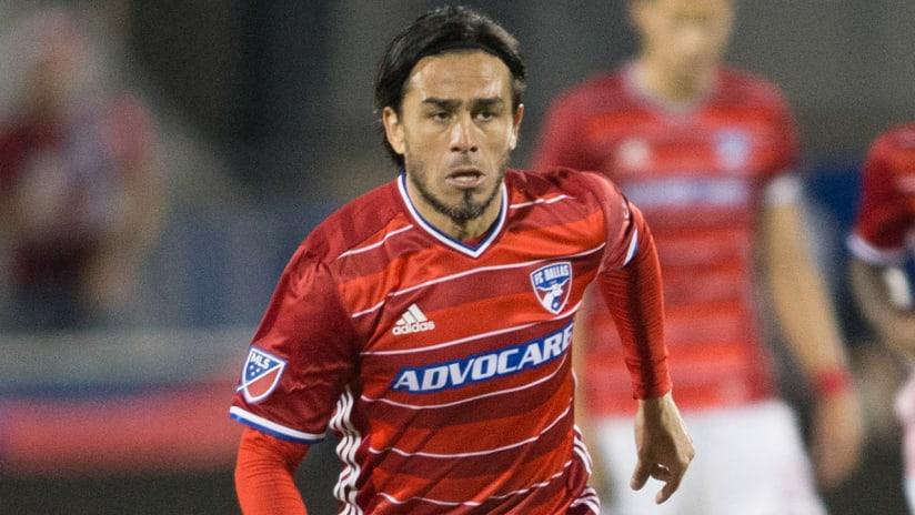 Mauro Rosales - FC Dallas - closeup