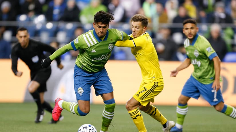 Seattle v Columbus - action - March 7, 2020