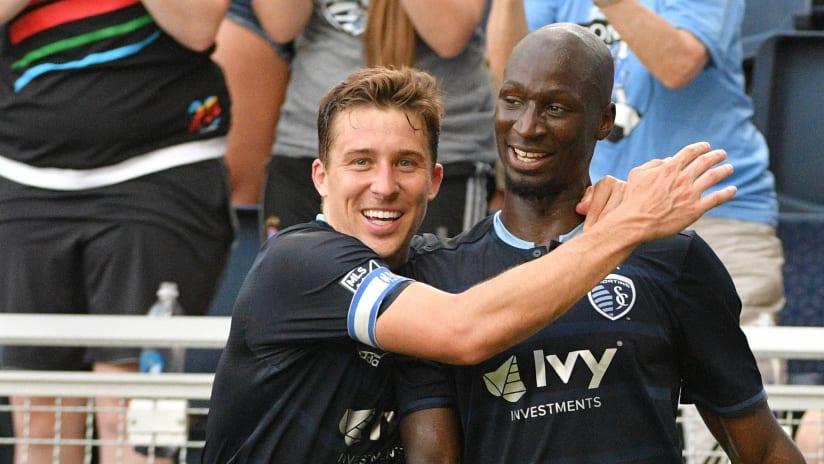 Matt Besler and Ike Opara - Sporting Kansas City