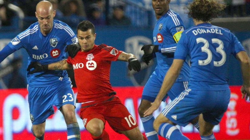 Sebastian Giovinco - Toronto FC - Montreal Impact - Laurent Ciman