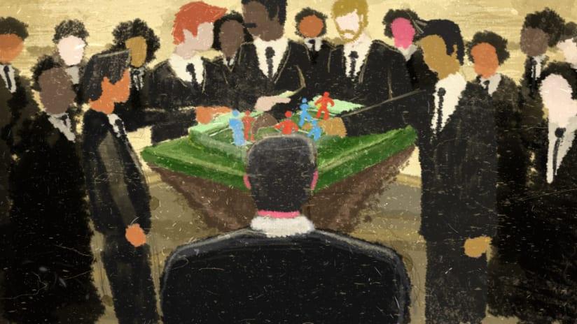 MLS Combine, Player's perspective - Illustration