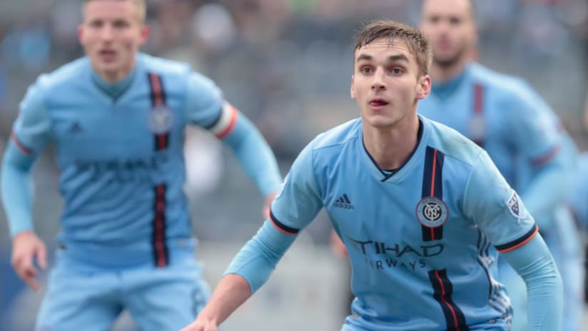 James Sands ready for anythig - NYCFC