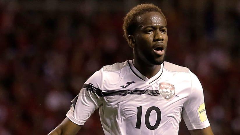 Kevin Molino - Trinidad & Tobago - Close up