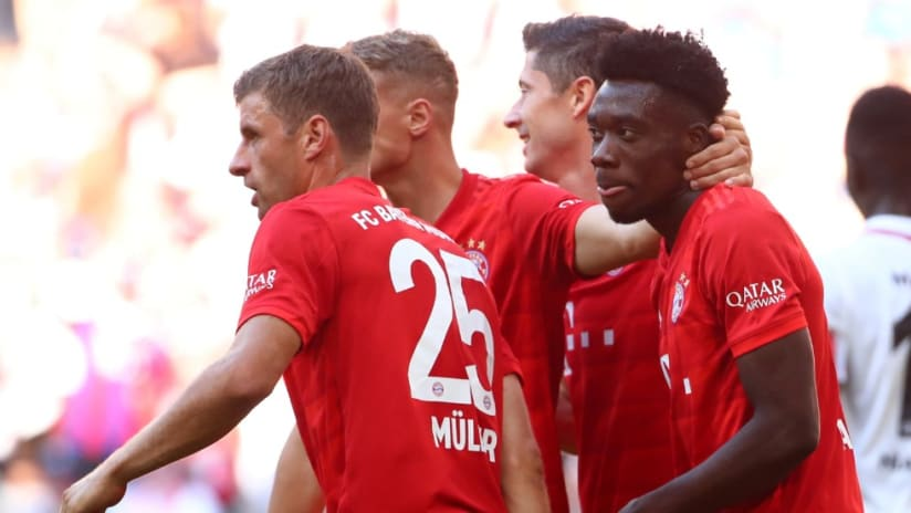 Alphonso Davies - scoring - Munich