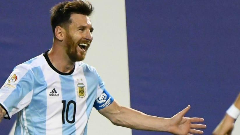 Lionel Messi - Argentina - Copa America - smile