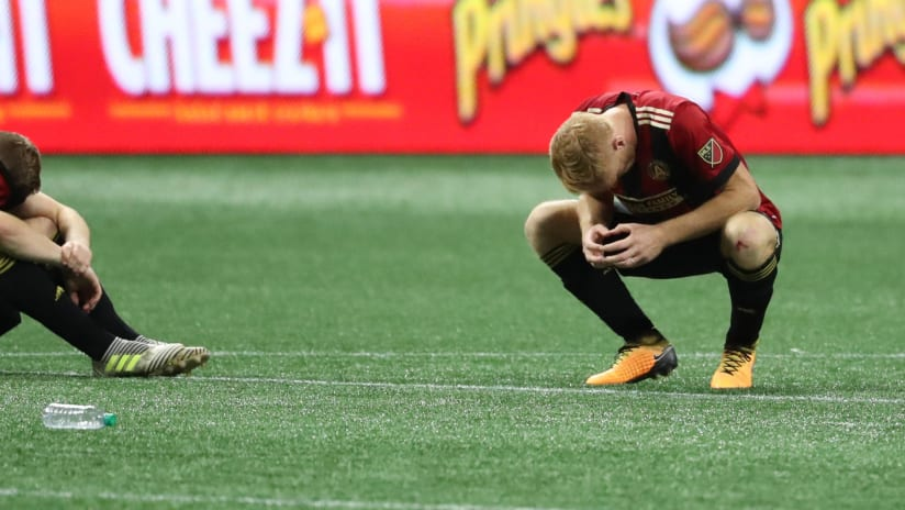 Atlanta United - Dejected - 2017