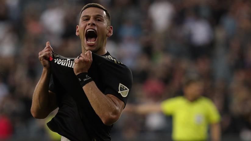 Christian Ramirez - LAFC - Celebrate