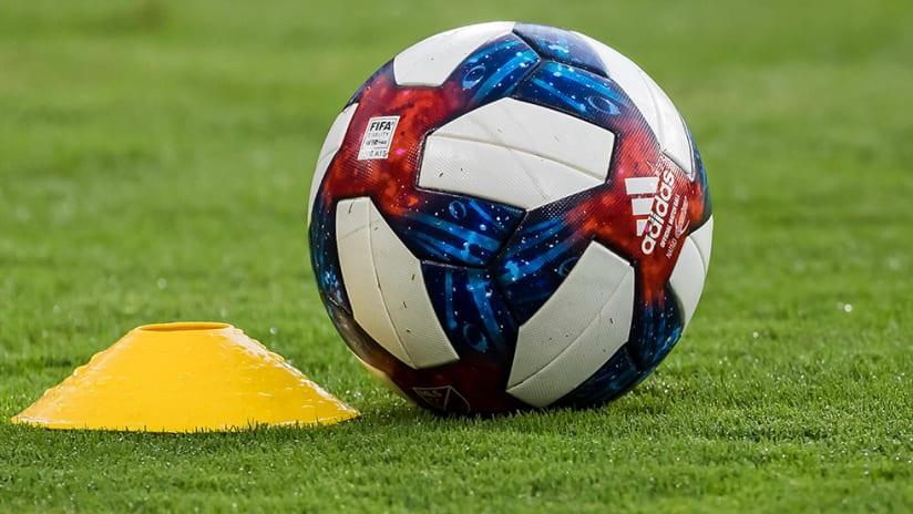 MLS ball - generic field shot