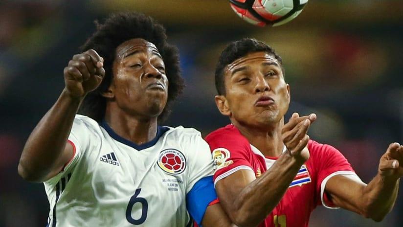 Carlos Sanchez - Colombia - Copa America - Aerial Duel