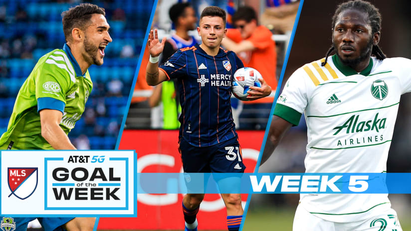 Vote for AT&T Goal of the Week - MLS Week 5