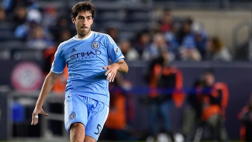 Andoni Iraola passes for NYCFC
