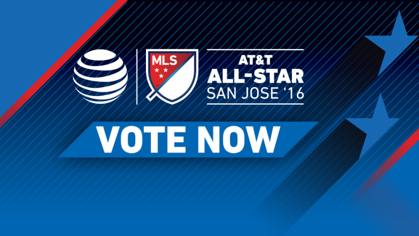 2016 MLS All-Star - VOTE NOW