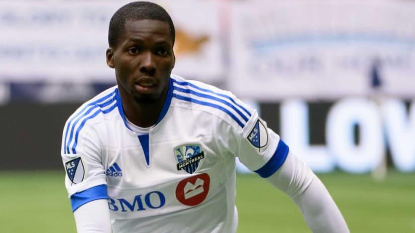 Ambroise Oyongo - Montreal Impact - close-up - 2016