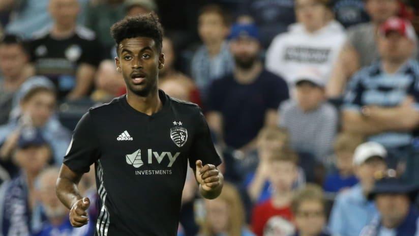 Gedion Zelalem close up - Sporting Kansas City
