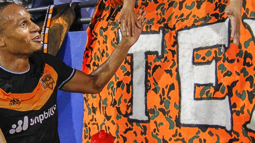 Ricardo Clark - Houston Dynamo - thanks fans