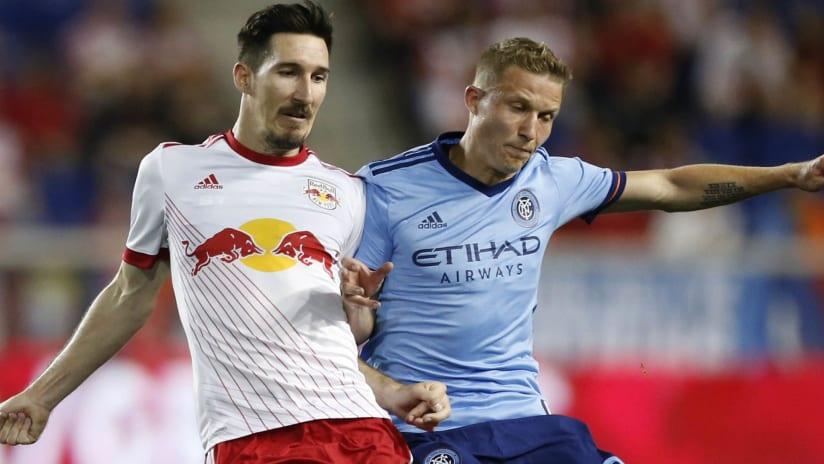 Sacha Kljestan - Alexander Ring - New York Red Bulls - New York City FC