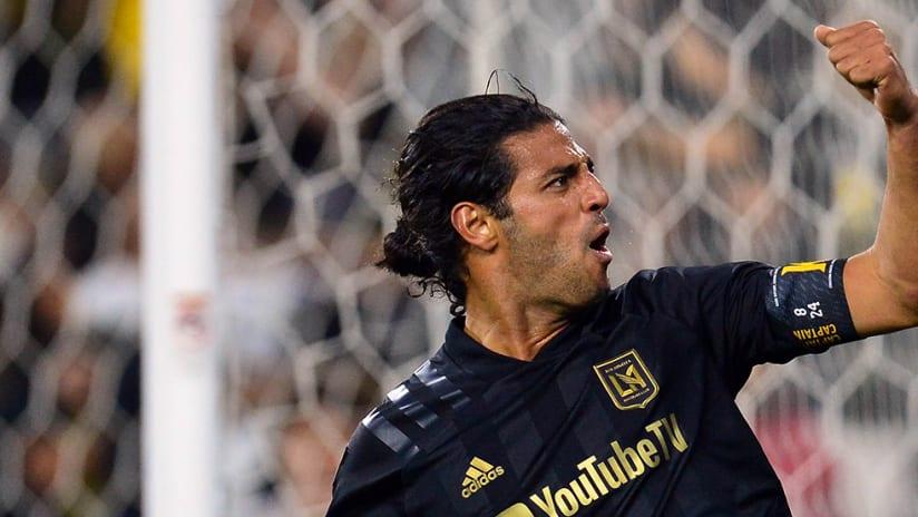 Carlos Vela - celebration - LAFC