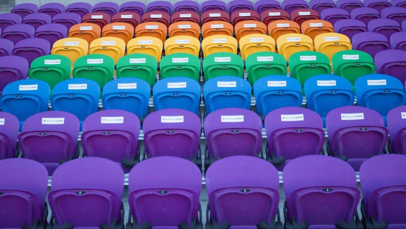 Orlando City - Pulse memorial seats