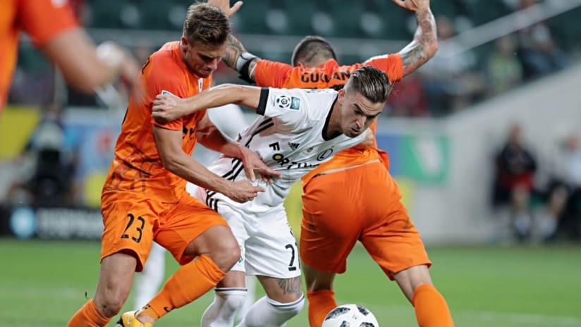 Carlitos - Legia Warsaw - NYCFC target