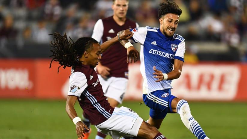 Maxi Urruti - Marlon Hairston - FC Dallas - Colorado Rapids